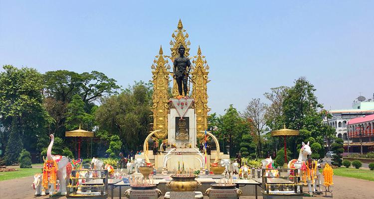 tantawanKing Mengrai the Great Monument